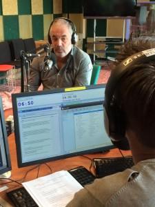 Dick bij Omroep Zeeland 15-09-2015
